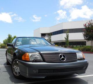 1993 Mercedes 600sl photo