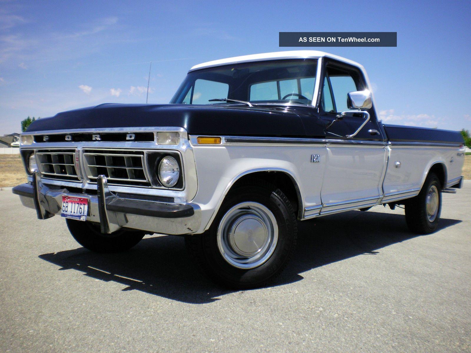Cars Trucks Ford F 250 Web Museum 1964 F250 4x4 1976 2wd Xlt Photo