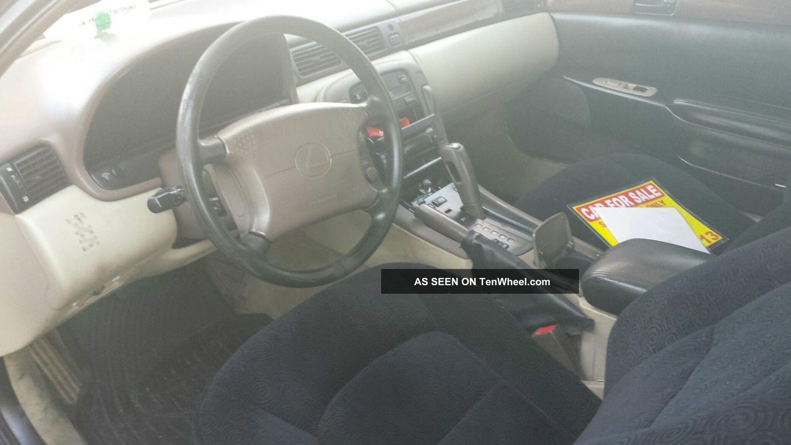 1996 Lexus Sc400 Base Coupe 2 - Door 4.  0l SC photo
