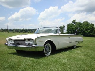 1960 Ford Sunliner Convertible Car photo