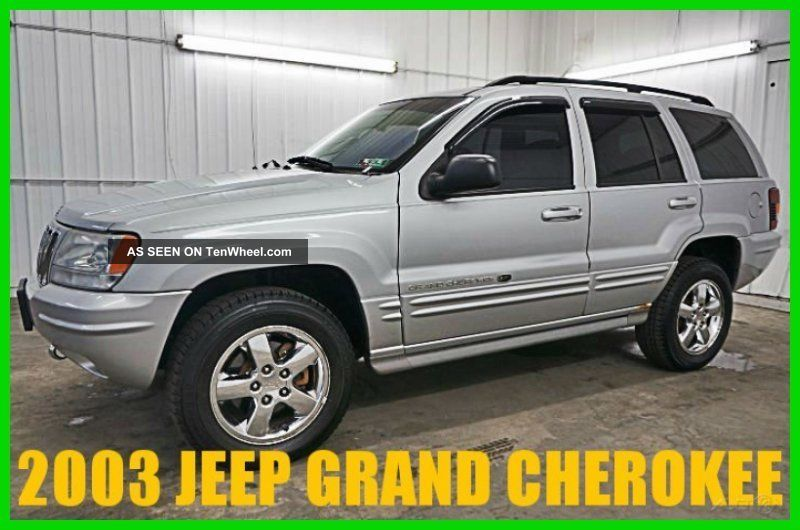2003 Overland 4.  7l V8 16v Automatic Suv Loaded Wow 83,  Xxx Orig Grand Cherokee photo