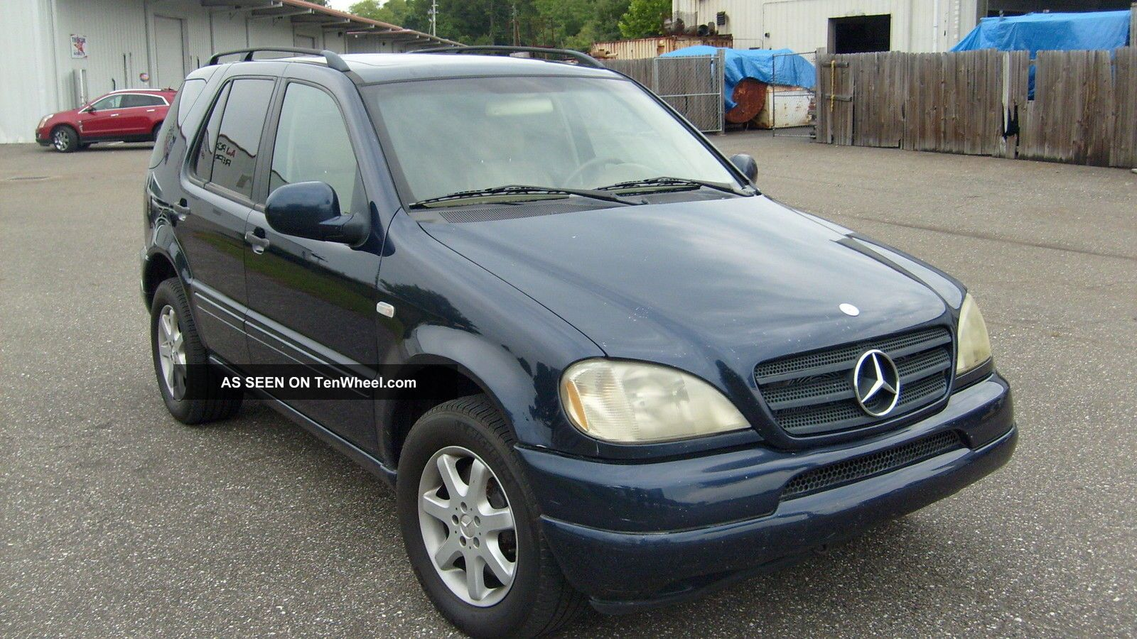 2000 mercedes benz ml430 ac brakes