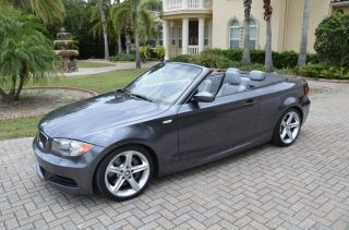 2008 Bmw 135i Convertible 3.  0l Twin Turbo photo