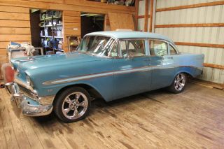1956 Chevy Bel - Air 454 V8 - 4 Door Sedan - Rock Solid 55 57 Chevrolet 1955 1957 photo
