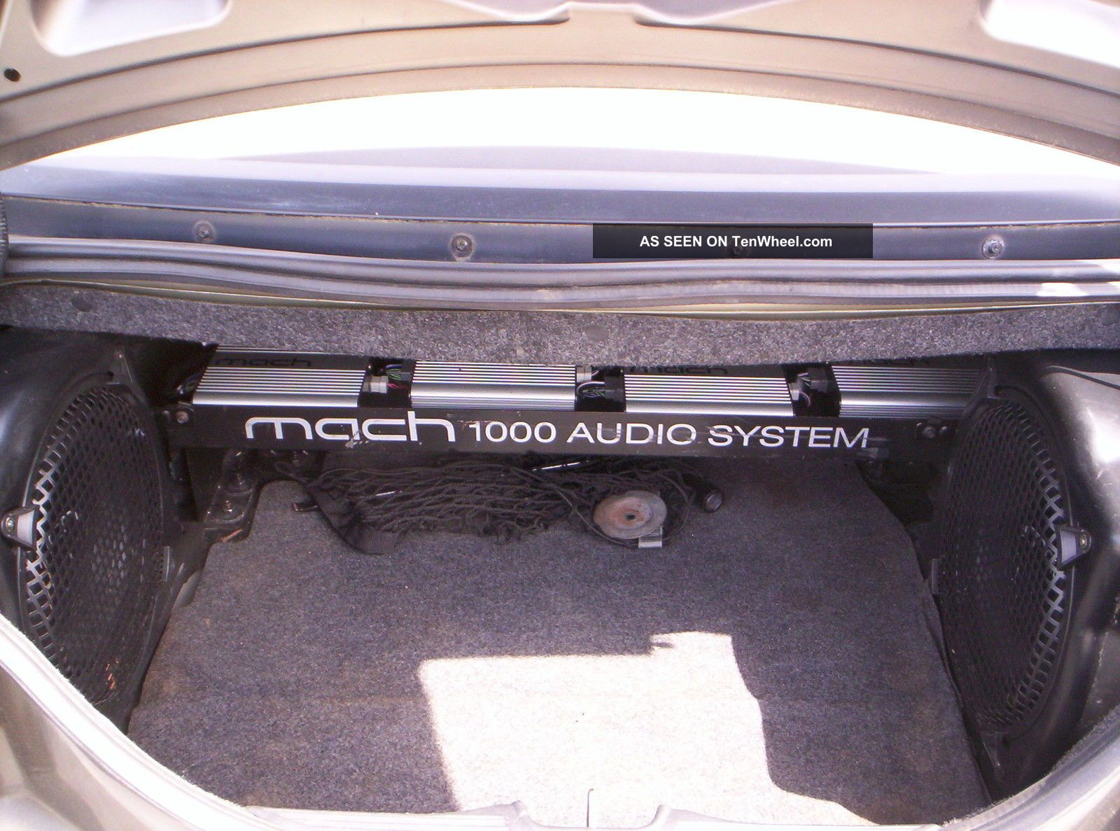 2002 Ford Mustang Gt Convertible 5 Speed Mach 1000 Stereo Sound System