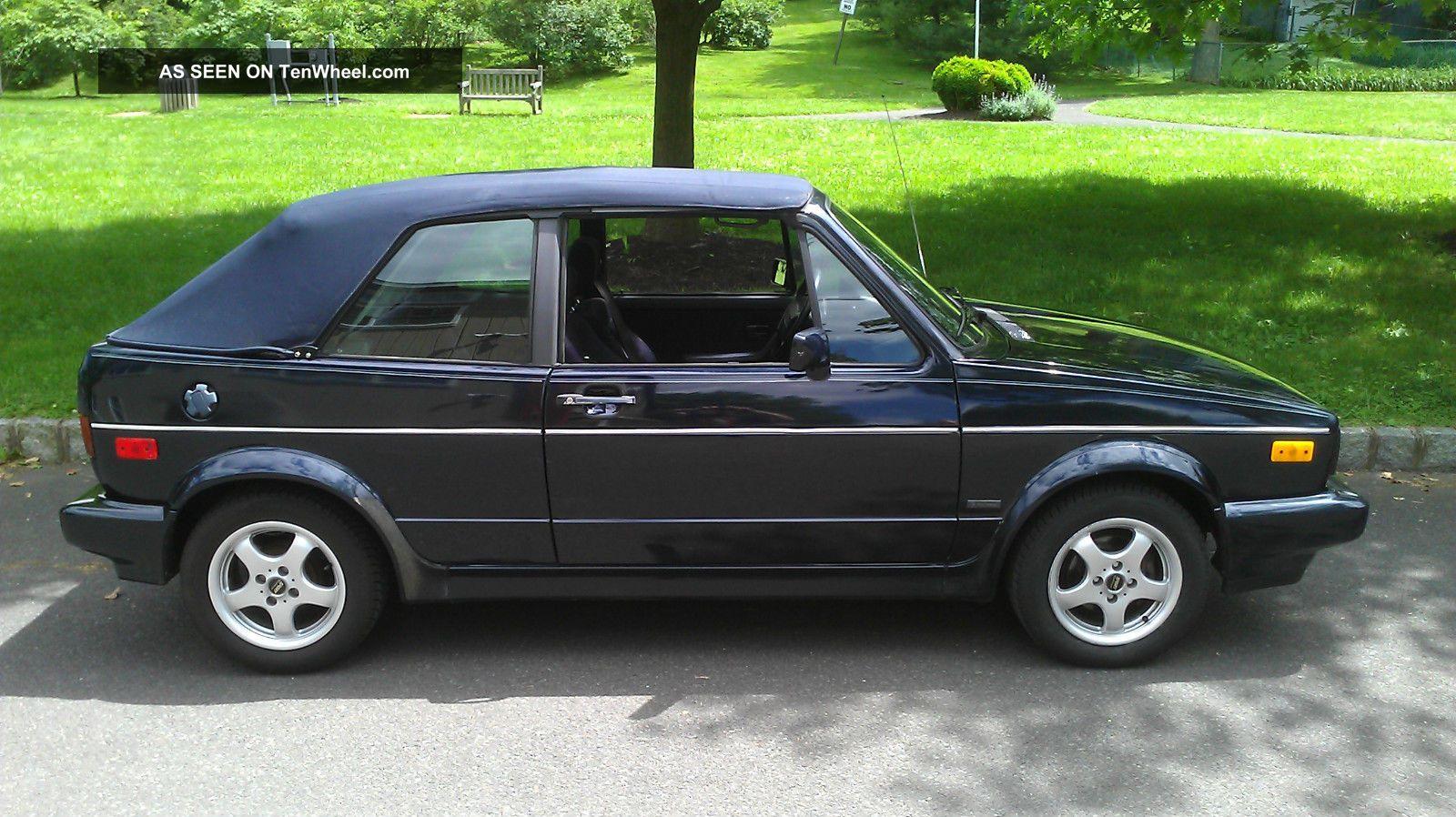 1991 Volkswagen Cabriolet Etienne Aigner Karmann Convertible 2 ...