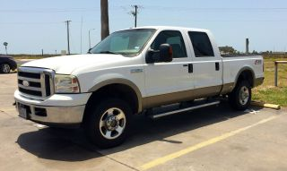 2007 Ford F - 250 Duty Lariat Crew Cab Pickup 4 - Door 6.  0l photo