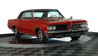 1964 Pontiac Lemans Gto Two Door Hardtop photo