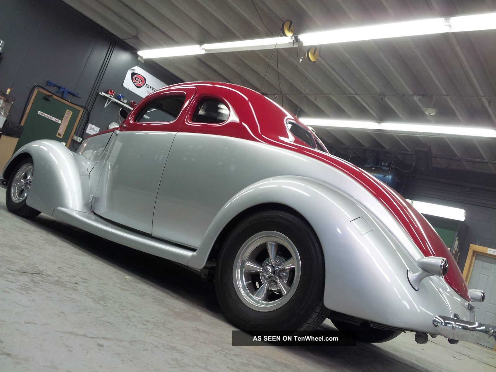 Ford Window Coupe Lgw on 1937 Ford Coupe Interior