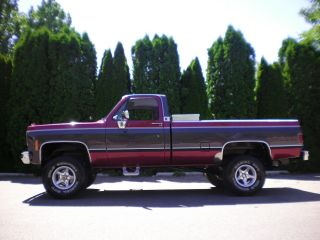 1975 Chevy Pickup 1500 4x4 photo