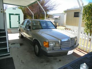 1991 Mercedes - Benz 300se,  W / &,  Assembled In Germany And Imported photo