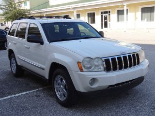 2007 Jeep Grand Cherokee Limitd 4x4 3.  0 Diesel Florida Car Clear Title photo