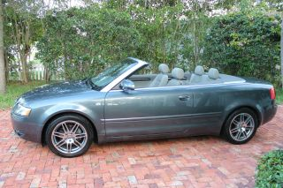 2005 Audi A4 Cabriolet - 1.  8t Turbo - 1 - Owner - Fl - Kept - - Best Color - photo