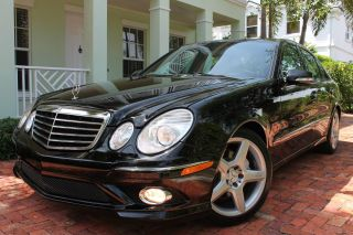 2009 Mercedes - Benz E350 Amg Sport - 1 - Owner - Fla - Kept - Best Colors - Nicest Available photo