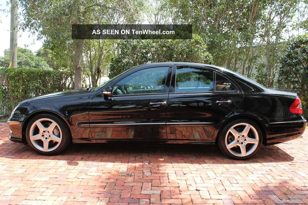 2009 mercedes benz e350 amg sport 1 owner fla. Black Bedroom Furniture Sets. Home Design Ideas