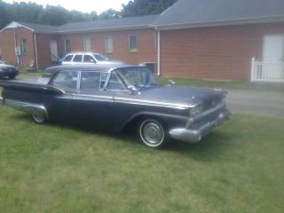 1959 Ford Galaxie 500 Black Exterior, ,  4 Door Hardtop photo