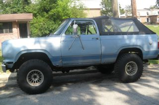 1977 Plymouth Trail Duster 4x4 W / Soft Top. . .  383 Motor photo