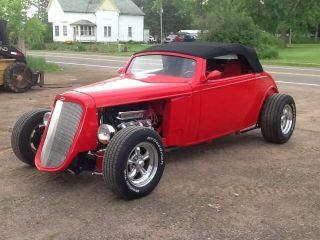 1934 Chevy Roadster 427bbc Turbo400 9