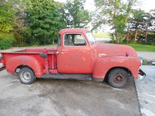 1949 Gmc Pickup With Chevrolet Tailgate Corner Window Half Ton photo