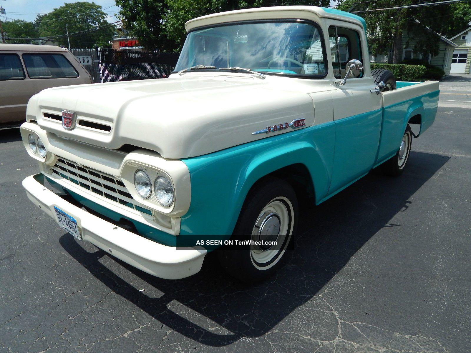 1960 Ford F 100 Pickup