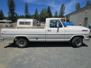 1971 Ford F - 100 F100 Pickup Truck Old Truck Running Fleetside F150 F - 150 photo