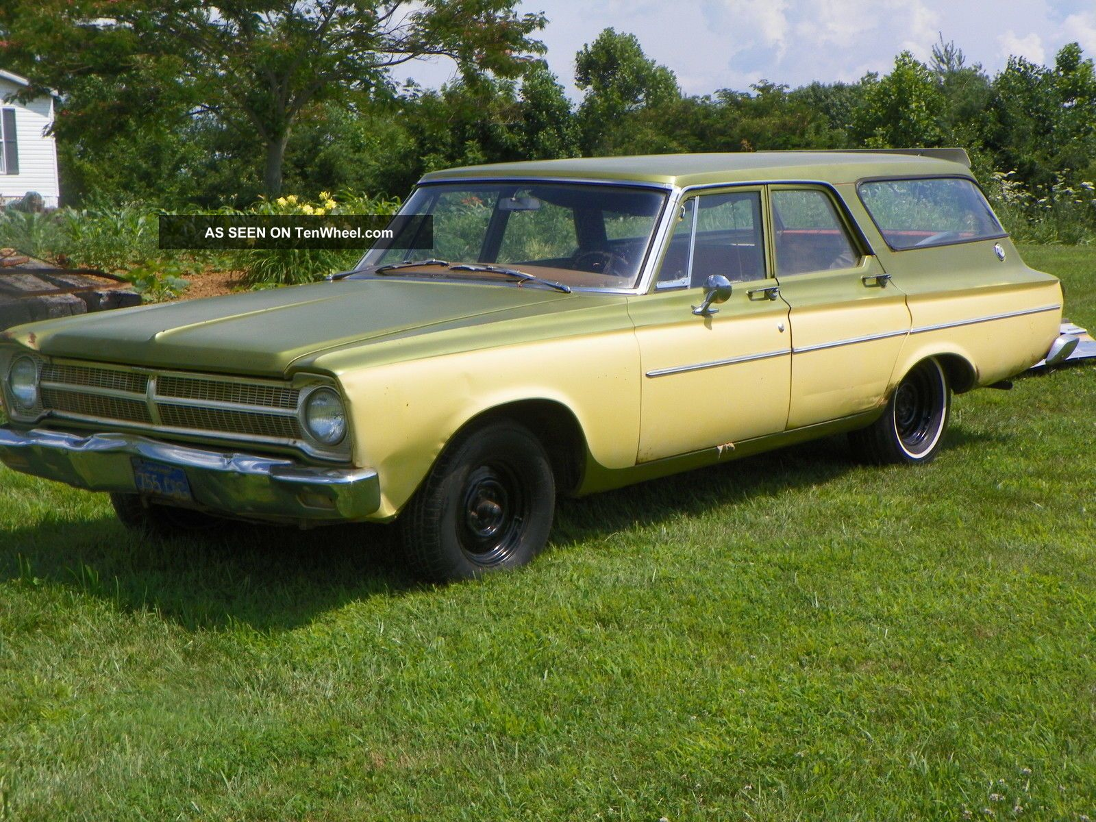 1965 Mustang Station Wagon >> 1965 Plymouth Belvedere Station Wagon