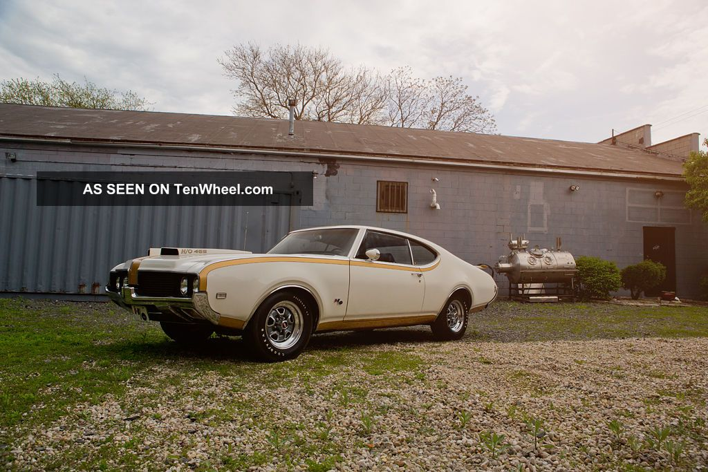 1969 Hurst Oldsmobile 442 455 / 390hp Matching Numbers
