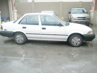 1990 Toyota Corolla Base Sedan 4 - Door 1.  6l photo