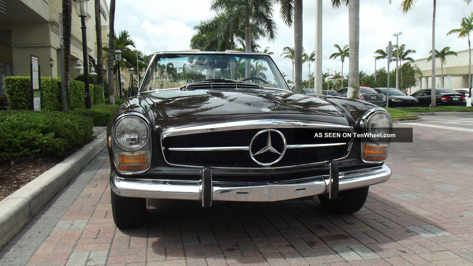 1969 Mercedes Benz 280 Sl.  In And Out.  Two Tops.  Excellent Running. SL-Class photo