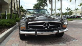 1969 Mercedes Benz 280 Sl.  In And Out.  Two Tops.  Excellent Running. photo