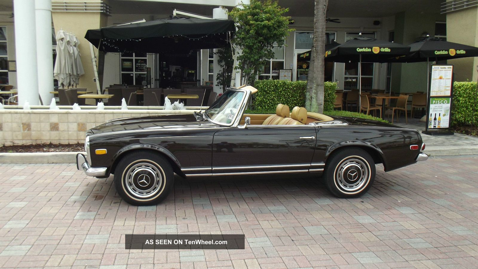 1969 mercedes benz 280 sl in and out two tops excellent for 1969 mercedes benz
