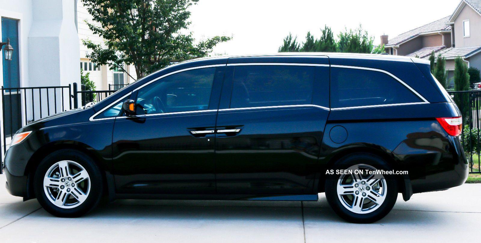 2012 Honda Odyssey Touring Elite Mini Passenger Van