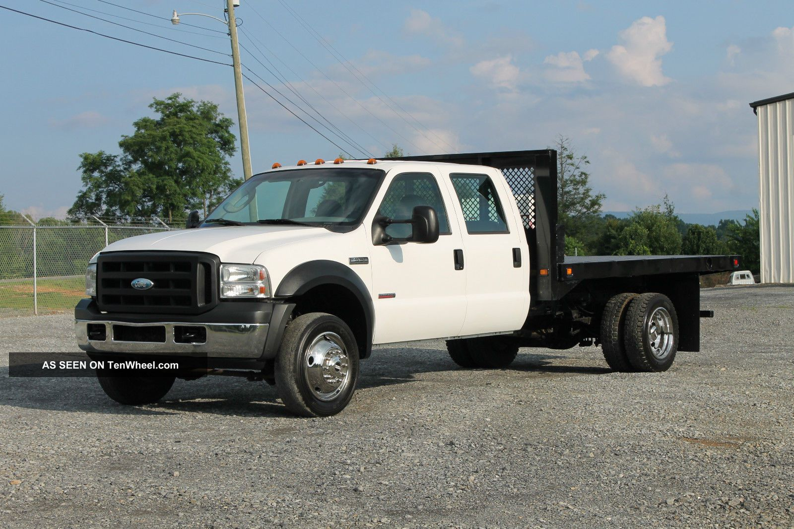 Ford Dually Trucks Flatbed