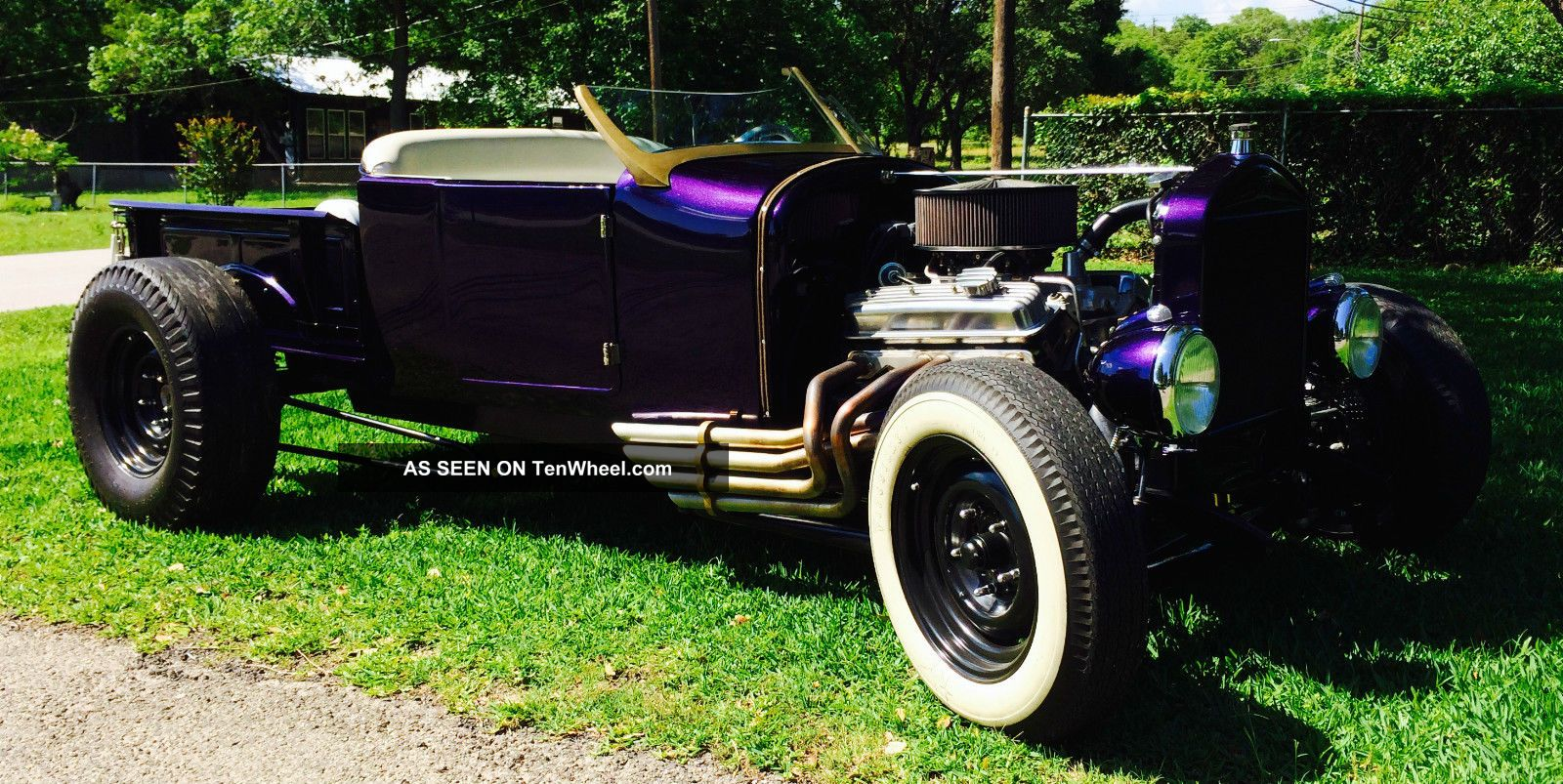 Relist - 1927 Ford Roadster Pick Up Hot Rod Austin,  Texas Speed Shop Custom Build Other Pickups photo