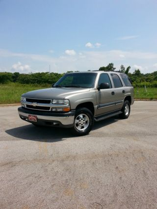 2002 Chevrolet Tahoe Ls Sport Utility 4 - Door 5.  3l Very,  And Dependable photo