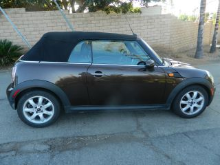 2010 Mini Cooper Convertible photo