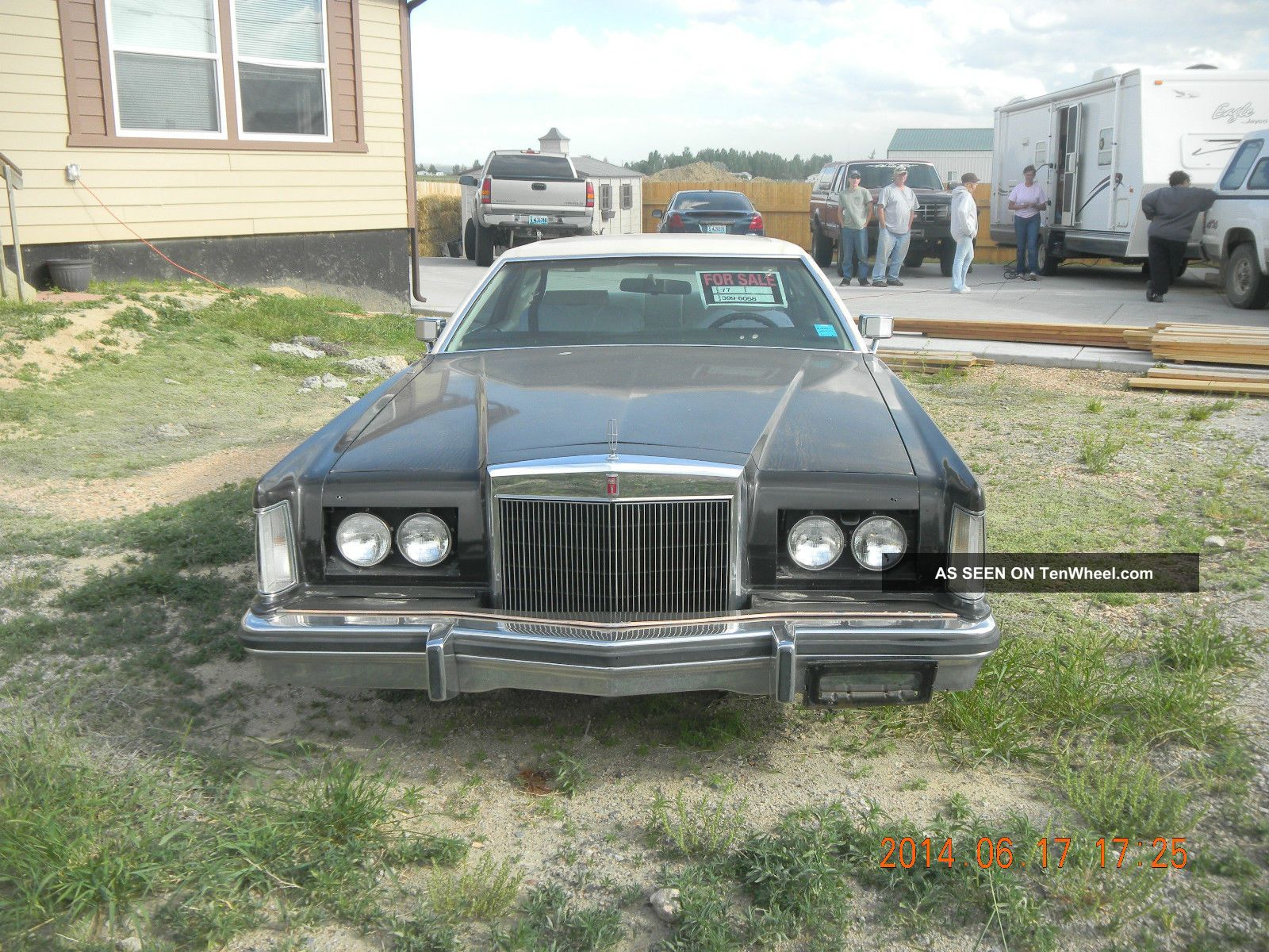 1977 Lincoln Mark V Base Coupe 2 - Door 7.  5l Mark Series photo