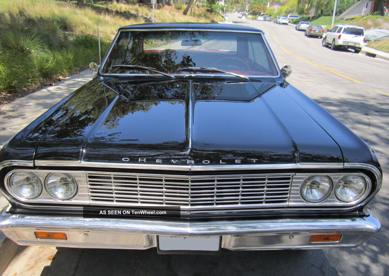 2013 Chevy Malibu Owners Manual >> 1964 Chevrolet Chevelle Malibu Ss Hardtop (black / Red) 4 Speed - Matching Car