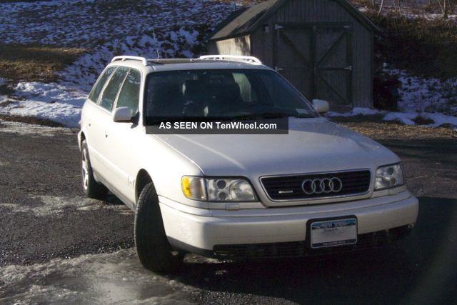 1997 Audi A6 Quattro Avant Wagon 4 - Door 2.  8l A6 photo