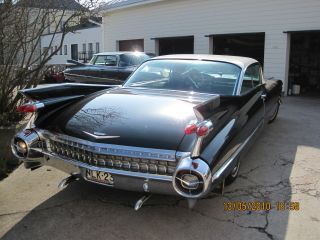 Classic Cadillac Coupe Deville 1959 photo