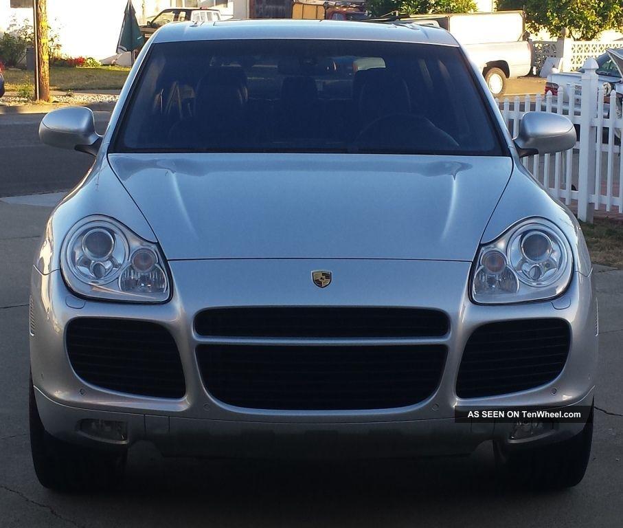 2004 Porsche Cayenne Turbo Sport Utility 4 Door 4 5l