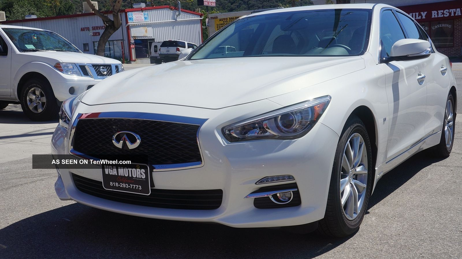2014 infiniti q50 premium sedan 4 door 3 7l loaded. Black Bedroom Furniture Sets. Home Design Ideas