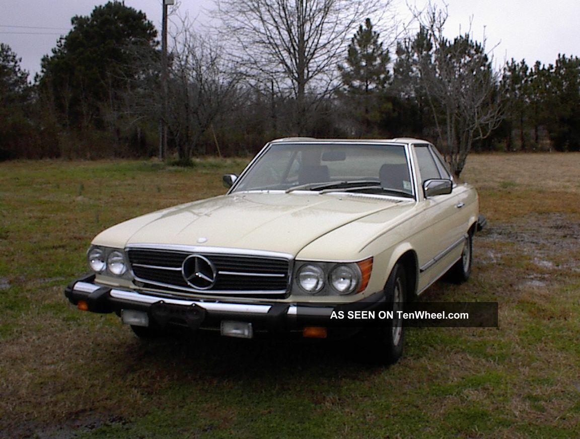 1980 mercedes benz 450sl convertible 2 door 4 5l for Mercedes benz 1980
