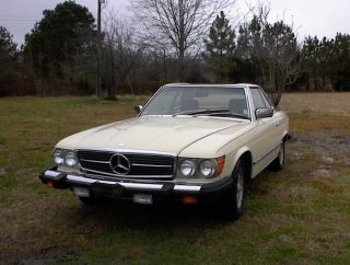 1980 Mercedes - Benz 450sl Convertible 2 - Door 4.  5l - Gorgeous photo