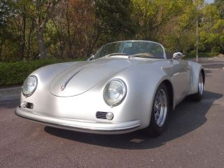 1957 Porsche 356 Speedster With An Air - Conditioner Wide Body photo