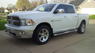 2011 Ram 1500 Laramie Crew Cab Pickup 4 - Door 5.  7l 4wd photo