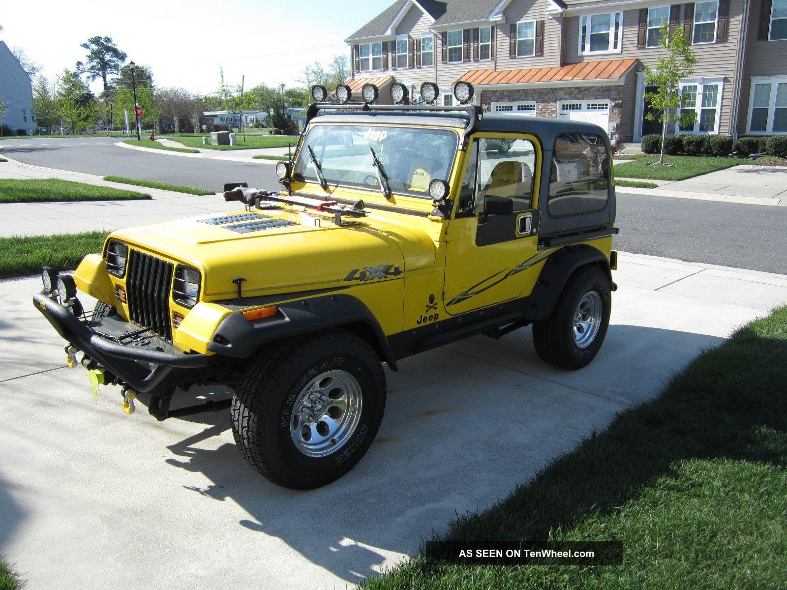 1989 Jeep Wrangler Yj 2 5l 4cyl 5 Speed