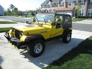 1989 Jeep Wrangler Yj 2.  5l 4cyl 5 Speed photo