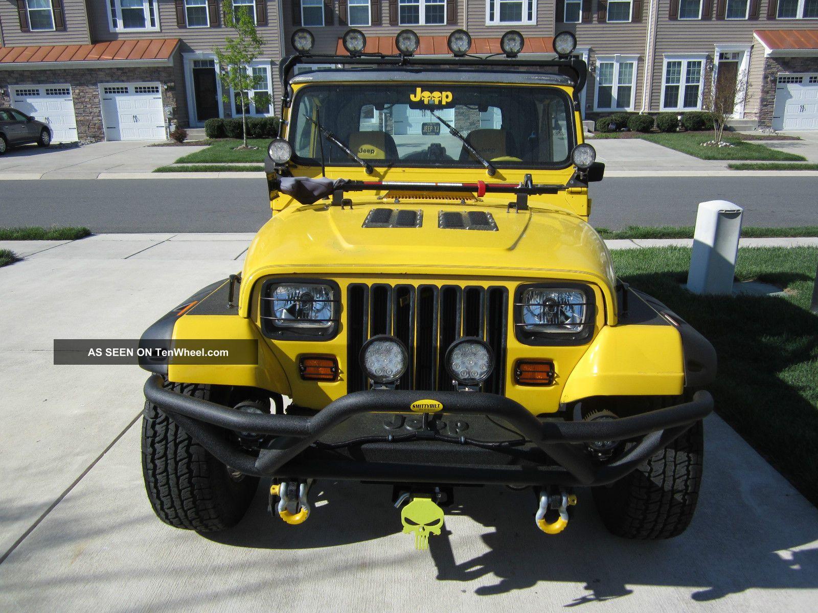 jeep wrangler yj   cyl  speed