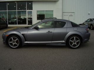 2004 Mazda Rx 8 Gt Coup Grey Loaded 6 Spd Beauty Bose System photo
